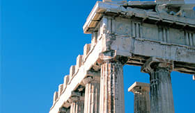 Norwegian Cruise Line Parthenon Temple in Athens Greece