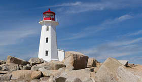 Norwegian Cruise Line Peggys Cove Lighthouse Canada