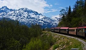 Norwegian Cruise Line the White Pass and Yukon Route Railroad