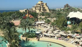 Aquaventure waterpark at the Atlantis Resort