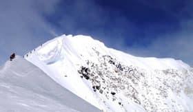 The peak of Mt. McKinley