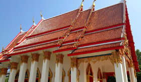 Wat Chalong Temple in Phuket, Thailand