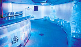 Norwegian Epic Svedka Ice Bar