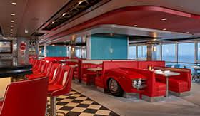 American Diner aboard Norwegian Joy