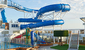 Aqua Park aboard Norwegian Joy