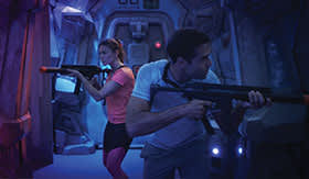 Laser Tag aboard Norwegian Joy