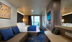Mini-Suite aboard Norwegian Joy