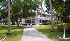 Oceania Cruises the Harry Truman Little White House in Key West, Florida