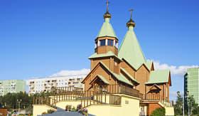 Oceania Cruises Holy Trinity Church Russia Murmansk region