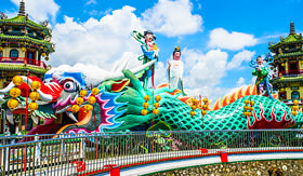 Oceania Cruises Kaohsiung Taiwan Kaohsiungs famous tourist attractions