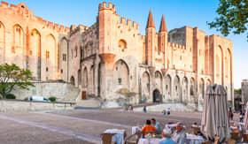 Princess Cruises Avignon France Pope Palace in Avignon