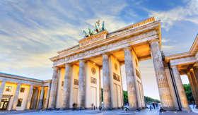 Princess Cruises Brandenburg Gate of Berlin Germany