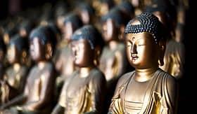 Princess Cruises Busan South Korea Buddhas inside the Mountain Buddhist Temple of Seokbulsa