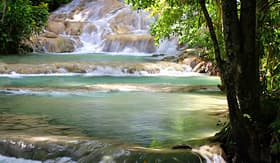 Princess Cruises Dunns River Falls in Jamaica