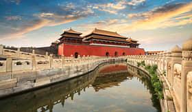 Princess Cruises Forbidden City in Beijing China
