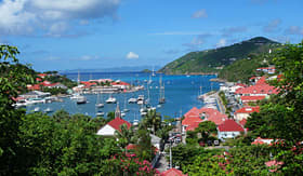 Princess Cruises Gustavia harbor St Barths french west indies