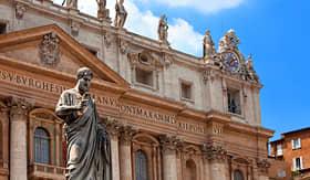Princess Cruises Italy Rome Vatican St Peters Basilica