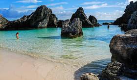 Princess Cruises Mayas Cove Horseshoe Bay beach Bermuda