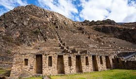 Princess Cruises Ollantaytambo Inca Ruins in Cuzco Peru