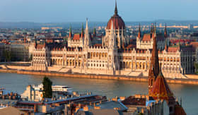 Princess Cruises Parliament building in the city of Budapest Hungary