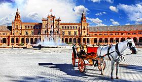 Princess Cruises Plaza de Espana, Sevilla, Spain