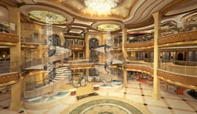 Royal Princess Atrium - Princess Cruises