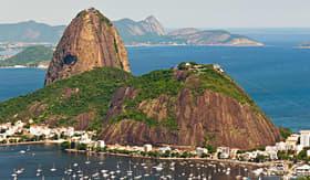 Princess Cruises Sugarloaf Mountain Rio de Janeiro Brazil