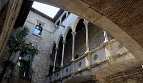 Princess Cruises the museum Picassos Cloister in Barcelona Spain