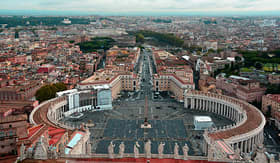 Princess Cruises St Peters Square Vatican Rome Italy