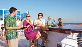 Princess Cruises entertainment Bars and Lounges