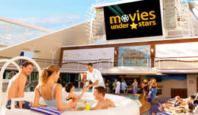 Princess Cruises entertainment Movies Under the Stars
