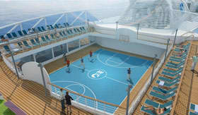 Princess Cruises onboard activities Sports
