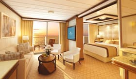 Princess Cruises staterooms Family Suite with Balcony