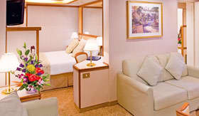 Princess Cruises staterooms Mini Suite with Balcony