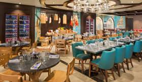 Jaime's Italian Restaurant by Jaime Oliver aboard Royal's Mariner of the Seas