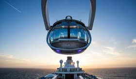 Royal Caribbean's North Star onboard Spectrum of the Seas