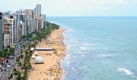 Regent Seven Seas Cruises beach in Recife, Brazil