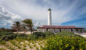 Regent Seven Seas Cruises Celarain Lighthouse in Cozumel, Mexico