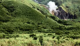 Regent Seven Seas Cruises crater in Taipei Taiwan