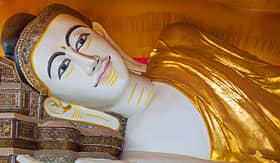 Regent Seven Seas Cruises shwethalyaung reclining Buddha Bago Myanmar