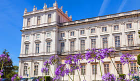Ajuda National Palace in Lisbon, Portugal