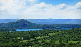 Regent Seven Seas Cruises valley near Managua, Nicaragua