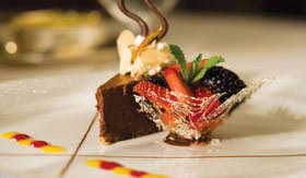 Regent Seven Seas Cruises Chocolate Dessert