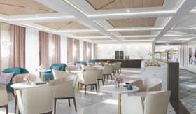 Coffee Connection aboard Regent Seven Seas Splendor