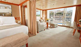 Regent Seven Seas Cruises staterooms Penthouse Suite