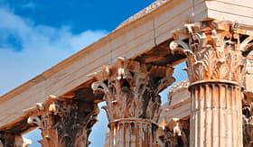 Royal Caribbean columns Temple of Olympian Zeus Athens Greece