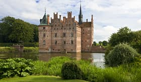 Royal Caribbean Egeskov Castle in Funen, Denmark