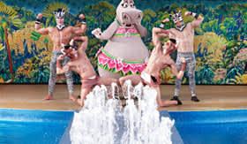 Royal Caribbean International entertainment AquaTheater Diving Shows