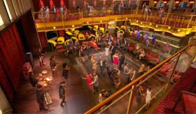 Royal Caribbean International entertainment Music Hall