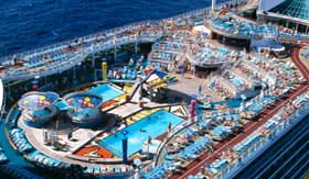 Royal Caribbean International entertainment Pool Parties